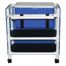 Hydration Cart with 48 Quart Ice Chest