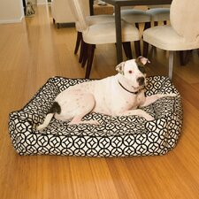 Prism Lounge Bolster Dog Bed