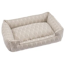 Pearl Premium Lounge Bolster Dog Bed