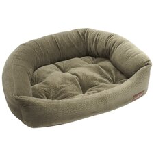 Ripple Velour Napper Bed