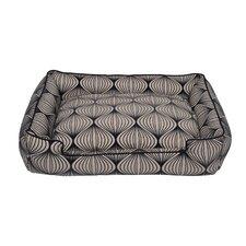 Flocked Lantern Rectangle Pillow Dog Bed