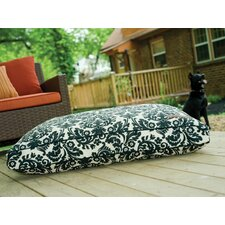 Rectangle Indoor / Outdoor Pillow Dog Bed in Imperial