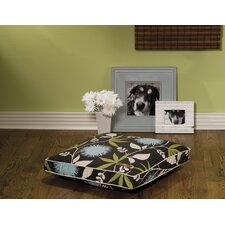 Everyday Cotton Pillow Dog Bed in Mumm