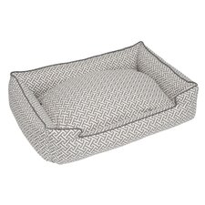 Hera Grey Everyday Lounge Bolster Dog Bed