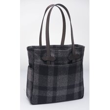 <strong>Filson</strong> Plaid Tote Bag