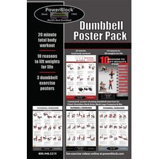 <strong>Powerblock</strong> Dumbbell Workout Poster Pack