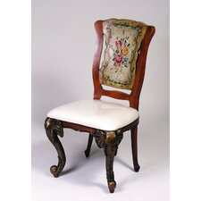 <strong>AA Importing</strong> Fabric Side Chair (Set of 2)