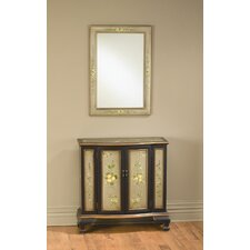 2 Door Console and Mirror Set