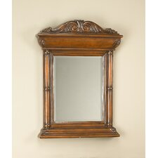 Beveled Mirror in Brown