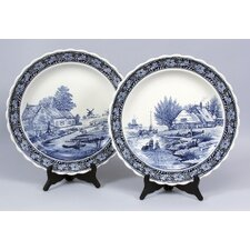 <strong>AA Importing</strong> Spring / Winter Plates (Set of 2)