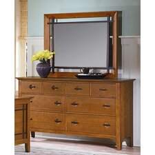 Franklin Heights Rectangular Dresser Mirror