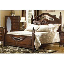 <strong>kathy ireland Home by Vaughan</strong> Southern Heritage Panel Bed