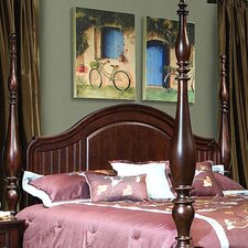 Provence Cottage Poster Panel Headboard