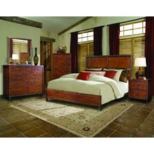 Rustic Lodge Distressed Panel Bedroom Collection