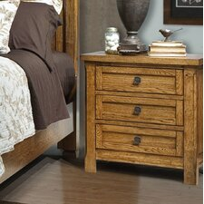 Ranchero 3 Drawer Nightstand