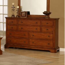 Pennsylvania Country 10 Drawer Dresser