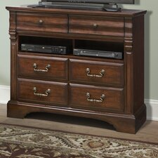 <strong>kathy ireland Home by Vaughan</strong> Washington Manor 6 Drawer Media Chest