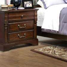 Washington Manor 3 Drawer Nightstand