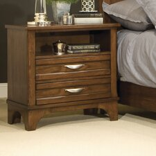 <strong>kathy ireland Home by Vaughan</strong> Radiance 2 Drawer Nightstand
