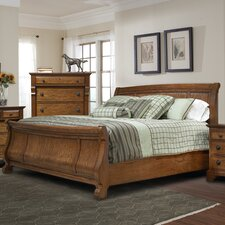 <strong>kathy ireland Home by Vaughan</strong> Georgetown Sleigh Bed