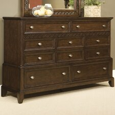 <strong>kathy ireland Home by Vaughan</strong> Jackson Square 7 Drawer Dresser