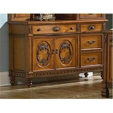 <strong>kathy ireland Home by Vaughan</strong> Southern Heritage 4 Drawer Combo Dresser
