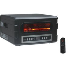 Heat Serve Infrared Compact Space Heater with Remote Control