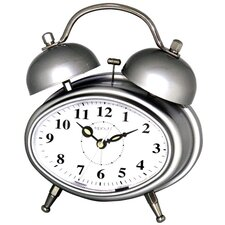 <strong>Maples Clock</strong> Double Bell Melody Alarm Clock