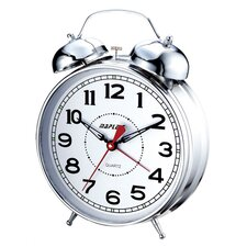 "4"" Desktop Double Bell Alarm Clock"