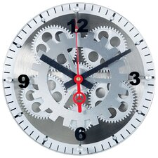 "10"" Moving Gear Wall Clock"