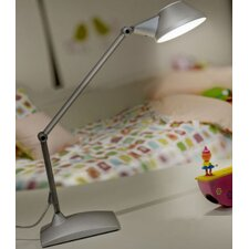 "Petite 48"" H Table Lamp with Bowl Shade"