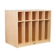 5-Section Double-Sided Locker