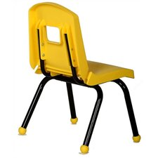 "<strong>Mahar</strong> Creative Mix and Match 12"" Plastic Classroom Stacking Chair"