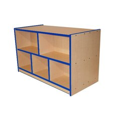 Preschool Double-Sided Storage Unit