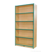 "Single-Sided 72"" Bookcase"