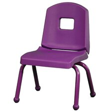 "12"" Creative Colors Split Bucket Stack Chair"
