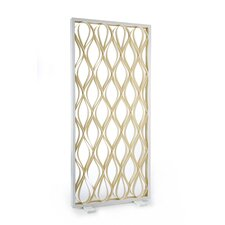 "80.7"" x 36.8"" Groove Screen 1 Panel Room Divider"