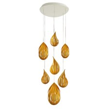 Raindrop 7 Light Pendant