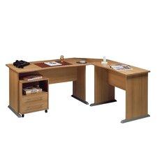 """Schreibtisch """"495"""" in Buche-Nachbildung"""