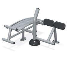FitTech In-Ground Mount Sit-up/Back Extension