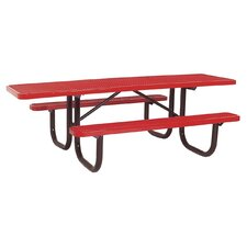 Extra Heavy Duty ADA Picnic Table with Diamond Pattern