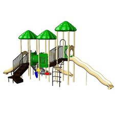 UPlay Today UP & Away with Crawl Tunnel & Standard Rung Climber with Ultra Mountain Climber