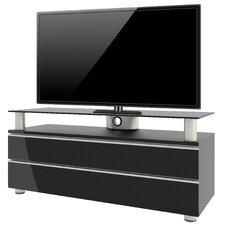 """Premium TV-Rack """"Dasano"""" mit 2 Schubladen, Fächern und Rollen"""