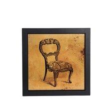 Vintage Chair Framed Wall Art