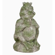 Outdoor Prince Frog Statue