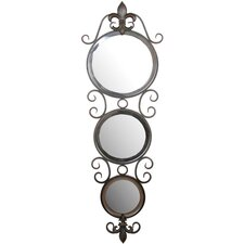 Three Circle Wall Mirror