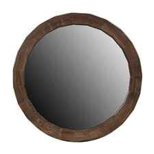 Reclaimed Round Mirror