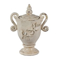 Lidded Decorative Urn