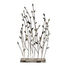 Decorative Leaves Stand Statue