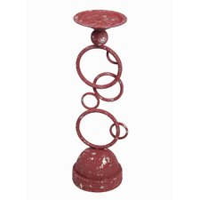Metal Circles Candlestick